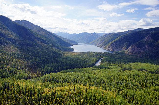 Tofalaria Lago Agul - Russia trekking